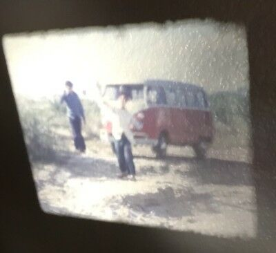 2 Vintage 8mm home Movies - 3 Teenagers go to California Cars, Girls, Boats, VW