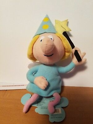 Plush Fractured Fairy Rocky and Bullwinkle and Friends 1999 CVS