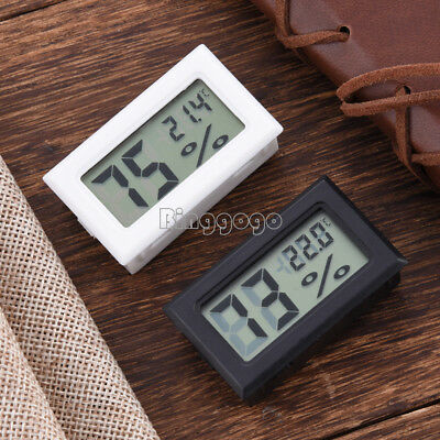 1Stks NEU Digital LCD Thermometer Hygrometer Humidity Indoor Temperature Meter