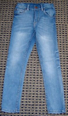 H & M Unisex Boys Or Girls Pale  Blue Skinny Jeans Sz 6