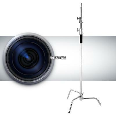 10ft Heavy Duty Stainless Steel Photo Video Century C- Light Stand Fold MY8L