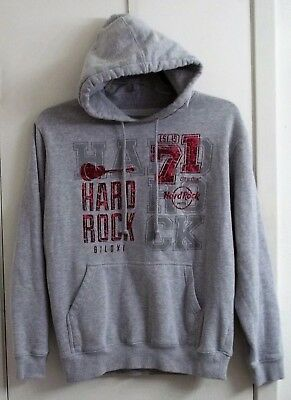 Hard Rock Cafe Biloxi MS Hooded Pullover Sweatshirt Adult L Large New with Tag