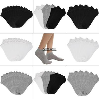 Women Cotton Breathable Low Cut Socks No Show Casual Socks Pack of 6/12 MY8L