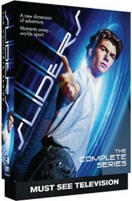 Sliders The Complete Series Collection Season 1 2 3 4 5 One to Five New DVD