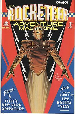 Comico ROCKETEER Adventure Magazine #1 (July 1988) Dave Stevens WOW!