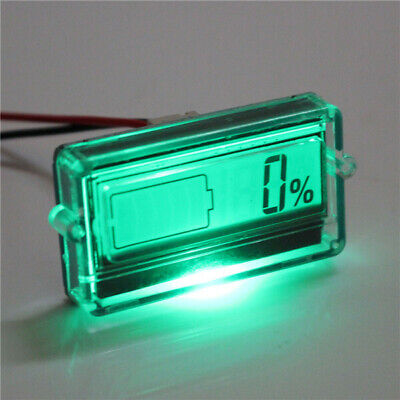 Excellway Battery Capacity Tester with LCD Indicator for 12V 24V 30V Lead acid L