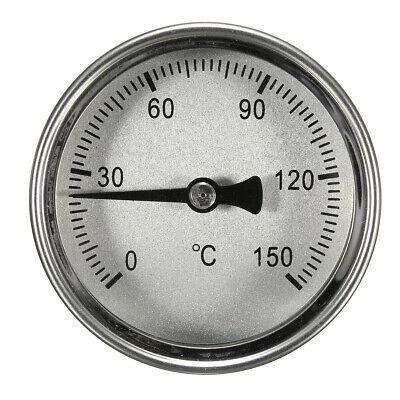 Stainless Steel Thermometer For Home Brew Fruit Wine Alcohol Distiller