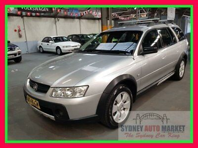2005 Holden Adventra Silver Automatic A Wagon