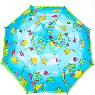 Umbrella-cane light childrens emi-automatic AIRTON protection against rain sun