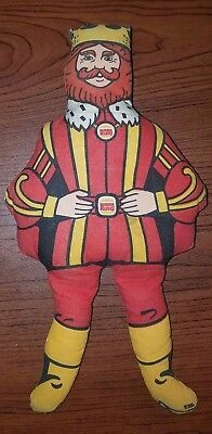 """Vintage 1970's Burger King """"The King"""" Advertising Cloth Doll"""