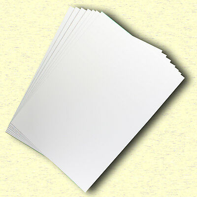 20 Sheets Gloss White Cast Coat Card 1/sided A5 Size  250gsm #H7105 #D1