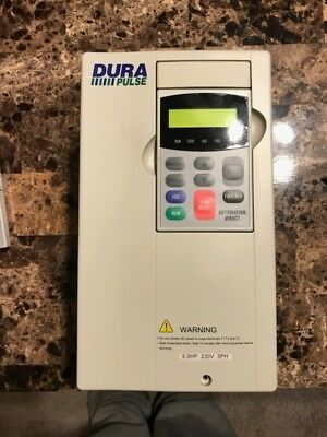 AUTOMATION DIRECT, GS3-25P0 DURAPULSE AC DRIVE, 230V, SLIGHTLY USED 2 Keypads