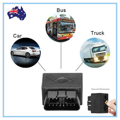 GPS Tracker OBD2 Live Realtime Vehicle Car Spy OBD2 Tracking Anti-theft Tracker