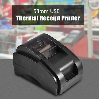 Mini Portable High Speed 58mm ESC/POS USB Thermal Receipt Bill Ticket Printer ZZ