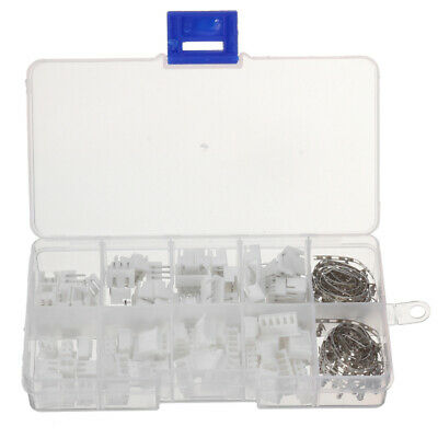 Excellway Terminals 40 Pcs 2p 3p 4p 5pin Right angle JST-XH Male Female Lipo Bal