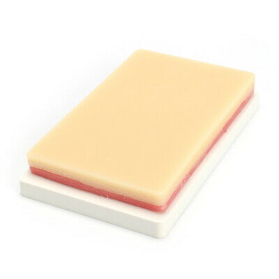 Silicone Medical Suture Training Pad Skin Model 3 Layers Student Repeated Practi