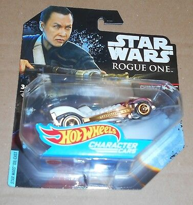 HOT Wheels Character Cars STAR WARS Rogue One Mattel Chirrut Imwe STAR WARS