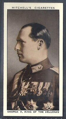 Mitchell-A Gallery Of 1935-#04- George Ii King Of The Hellenes