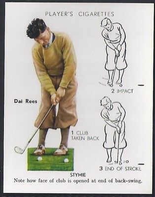 Players Overseas Issue-Golf (L25)-#22- Stymie - Dai Rees