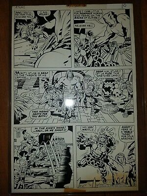Jack Kirby Original Art from First Issue Special #1