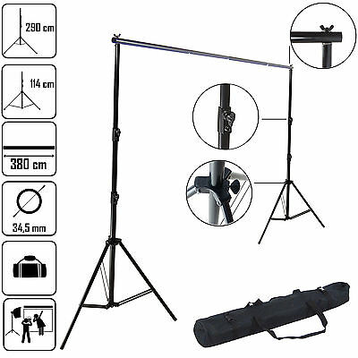 DynaSun K906 290x360 XXL Background Backdrop Support Studio System with Crossbar
