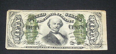 1863 Third Issue Fractional Currency 50 Cents Colby Spinner VG