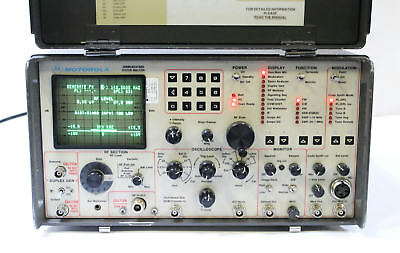 Motorola R2014D / 0500 / HS Communications System Analyzer Service Monitor