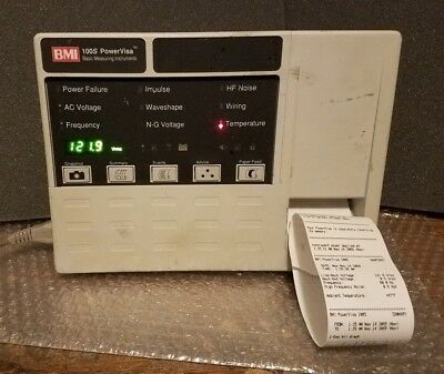 BMI 100s PowerVisa Basic measuring Instrument Power Line Monitor