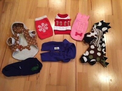 Lot of Dog clothing size Small