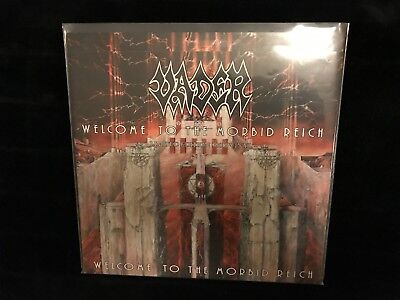 Vader – Welcome To The Morbid Reich ltd. 1st Press Clear/Red Vinyl Death Metal