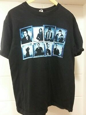 Bruce Springsteen & The E Street Band Working on a Dream Black Tour T Shirt Sz L