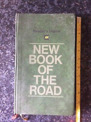 Readers Digest AA New Book Of The Road 1974