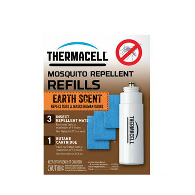 ThermaCELL Earth Scent Mosquito Repellent Single Refill - 12hrs