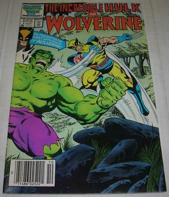 INCREDIBLE HULK AND WOLVERINE #1 (Marvel 1986) Reprints 180 & 181 1st appearance