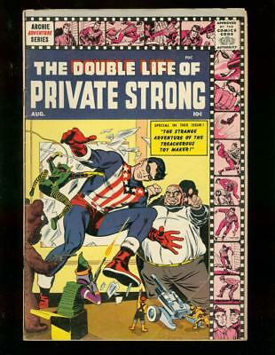 The Double Life Of Private Strong #2 1959 Simon Kirby Vg/fn