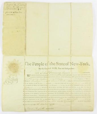 George Clinton DS as Governor of New York Lot 22