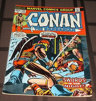 Conan the Barbarian #23 (Feb 1973, Marvel), First Appearance of Red Sonja,VF-