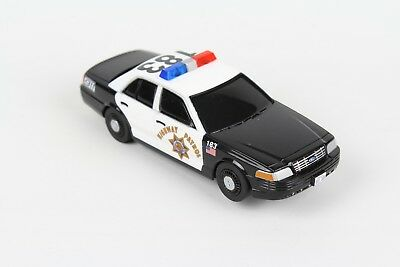 Carrera GO! 1/43 Slot Car Track Replacement Police Car Highway Patrol