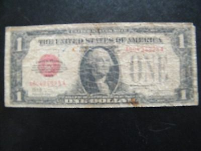 1928 US RED SEAL $1 FUNNY BACK NOTE auction fx8
