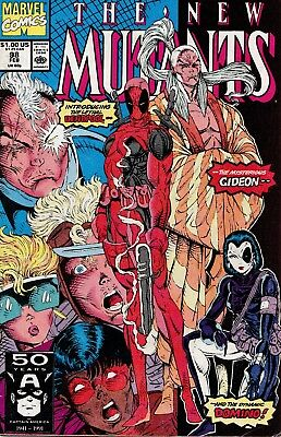 The New Mutants #98 (Feb 1991, Marvel) First Appearance of Deadpool