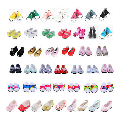 Dolls Shoes for 18 inch American Girl Doll Shoes Boot Sandal Clothes Dress Up
