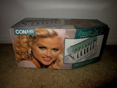 Vintage 1993 Conair Ready Set Go Hot Rollers Set-Anna Nicole Smith Box-Brand New