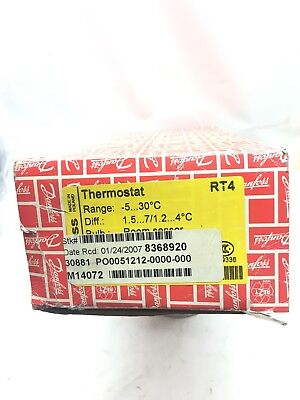 Danfoss Type Rt4 Room Thermostat -5 To 30 Degrees C