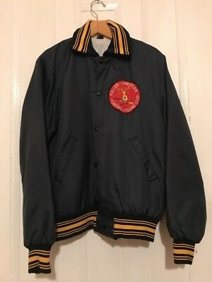 Vintage Polish-American Hunting & Fishing Club Large Mens Button Jacket
