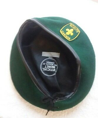 Boy Scouts Of Canada Beret Size Large