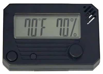 Quality Importers HygroSet, Rectangle Digital Hygrometer for Humidors New