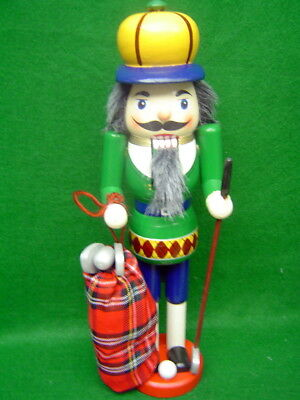 Christmas Golfer Nutcracker by Wonderland Traditions 15 inches