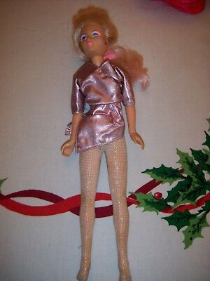 Jem and the Holograms Doll  Pink Blonde Hasbro Vintage 1980s