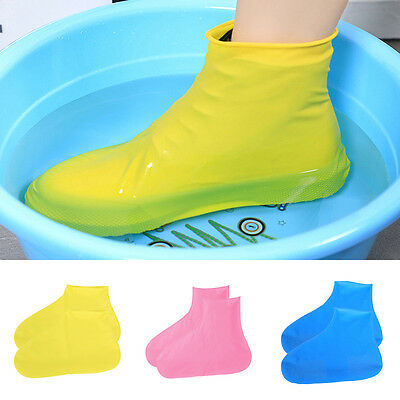 Disposable Waterproof Shoe Covers Raincoats For Rain-proof Kids Outdoor Travel