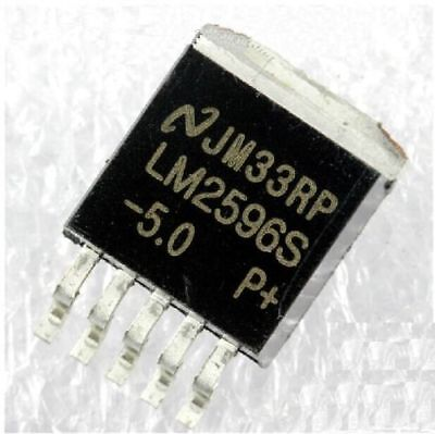50 Pcs IC LM2596S-5.0 LM2596 NSC TO-263